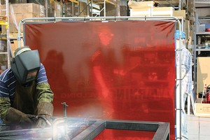 ONE-WAY™ Printed Welding Screens